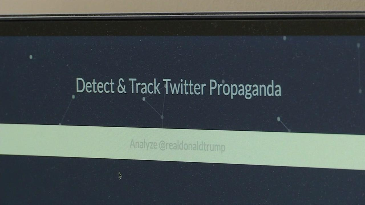Twitter bot technology appears in Berkeley, Calif. on Friday, Nov. 3, 2017.