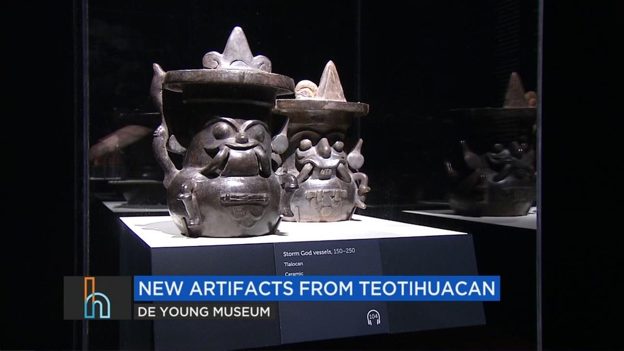 Teotihuacan artifacts are seen in this undated image.
