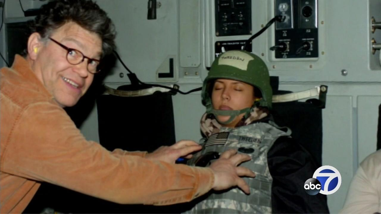 Sen. Al Franken faces backlash after admitting to misconduct with radio anchor