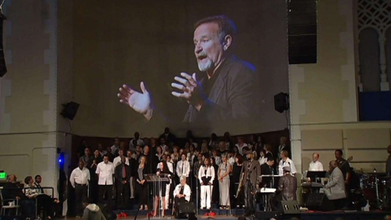 Glide Memorial Church in San Francisco held a special tribute for the late Robin Williams on Sunday.