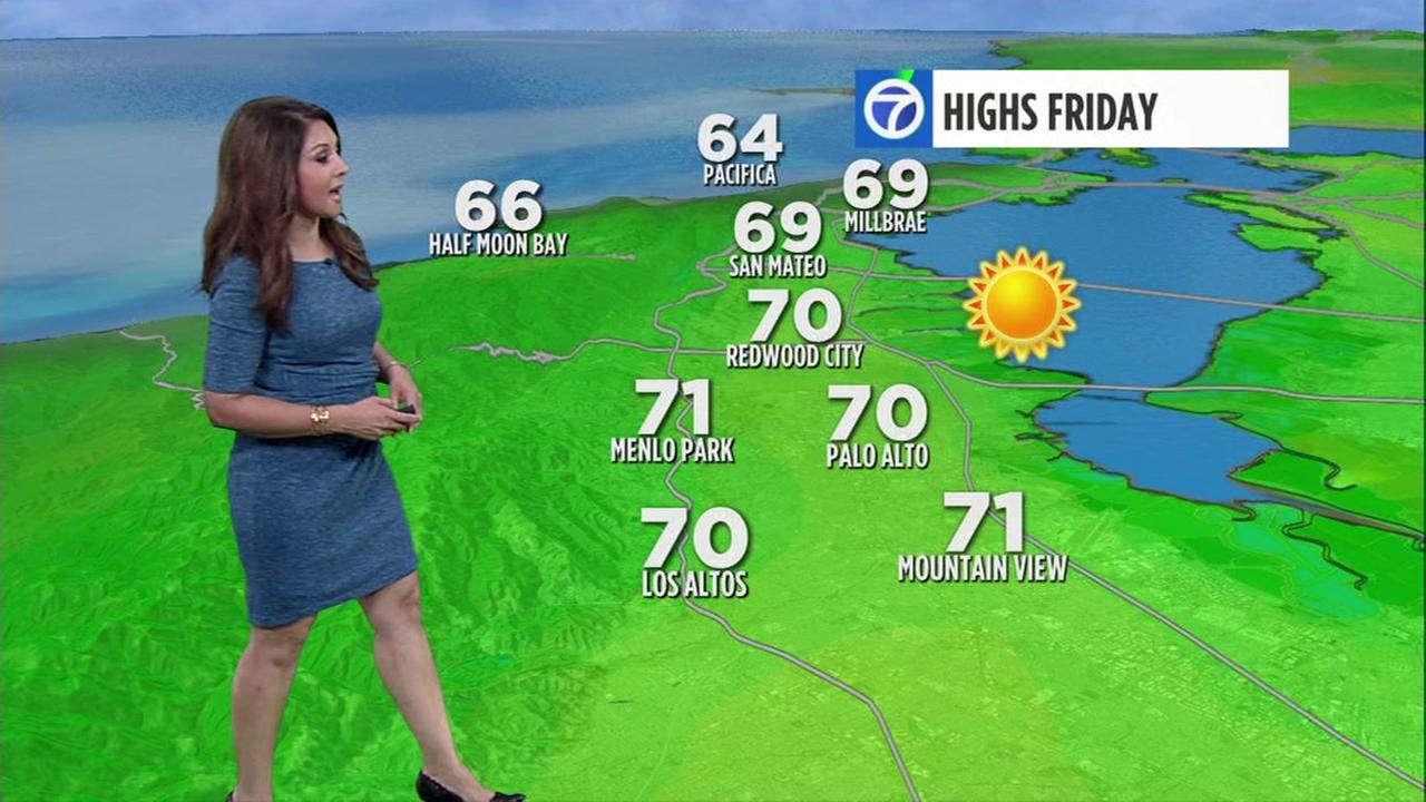 Meteorologist Sandhya Patel has your AccuWeather forecast.
