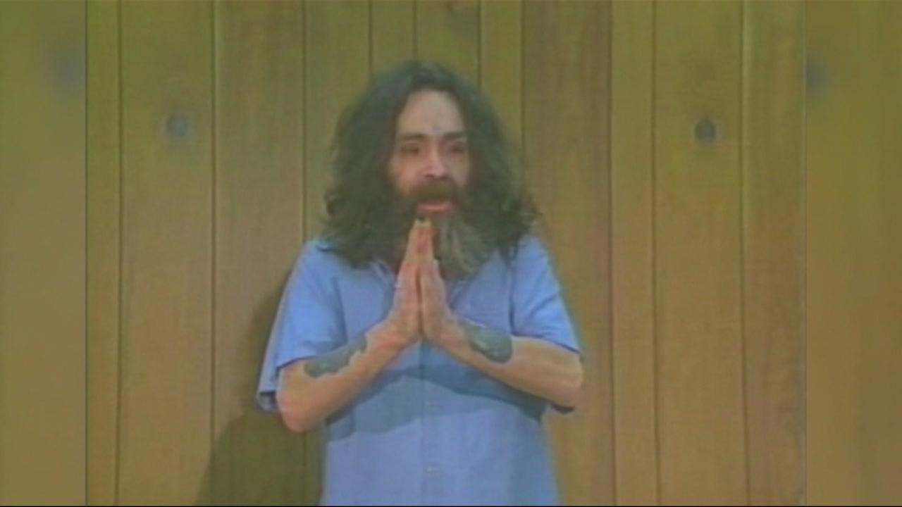Charles Manson is seen in this undated image.