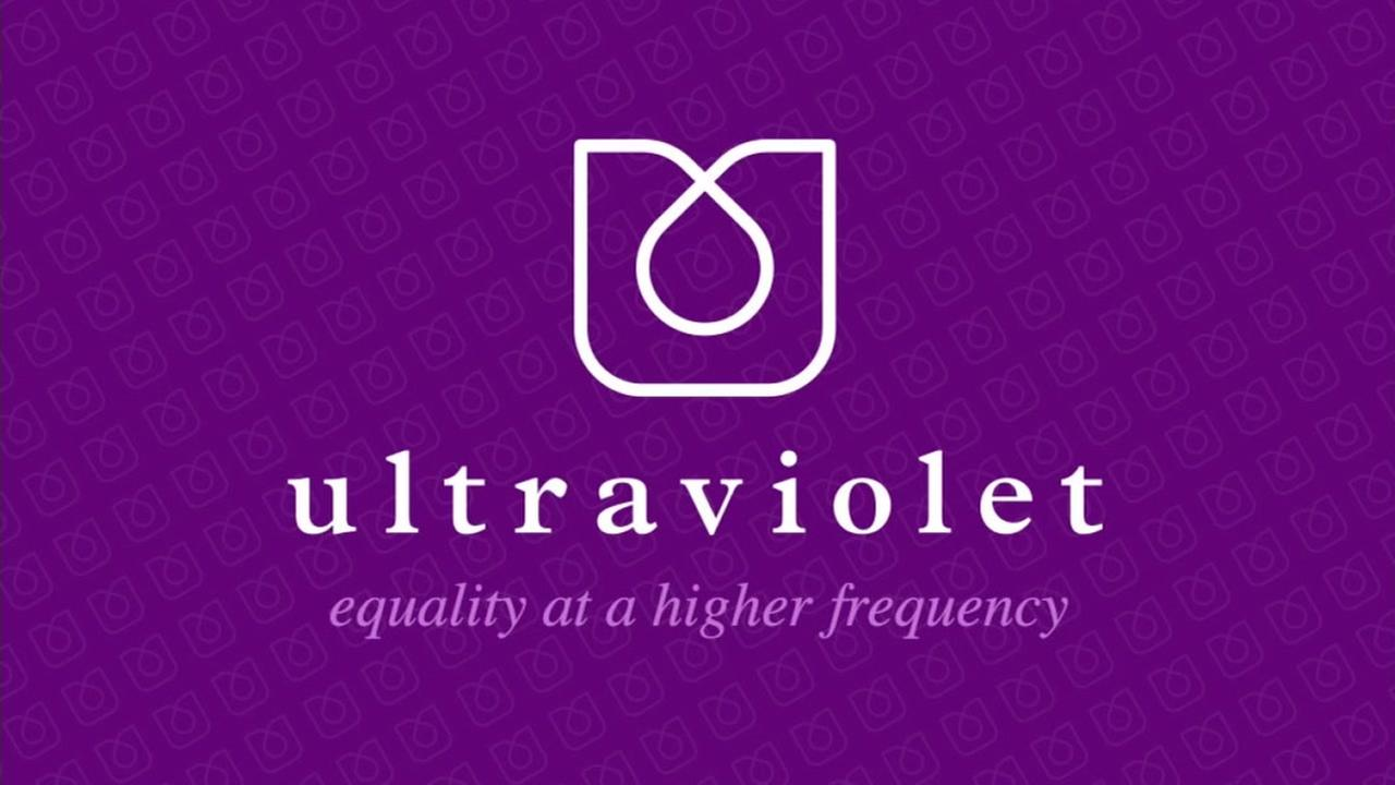 This is an image of the Ultraviolet announcement sign.