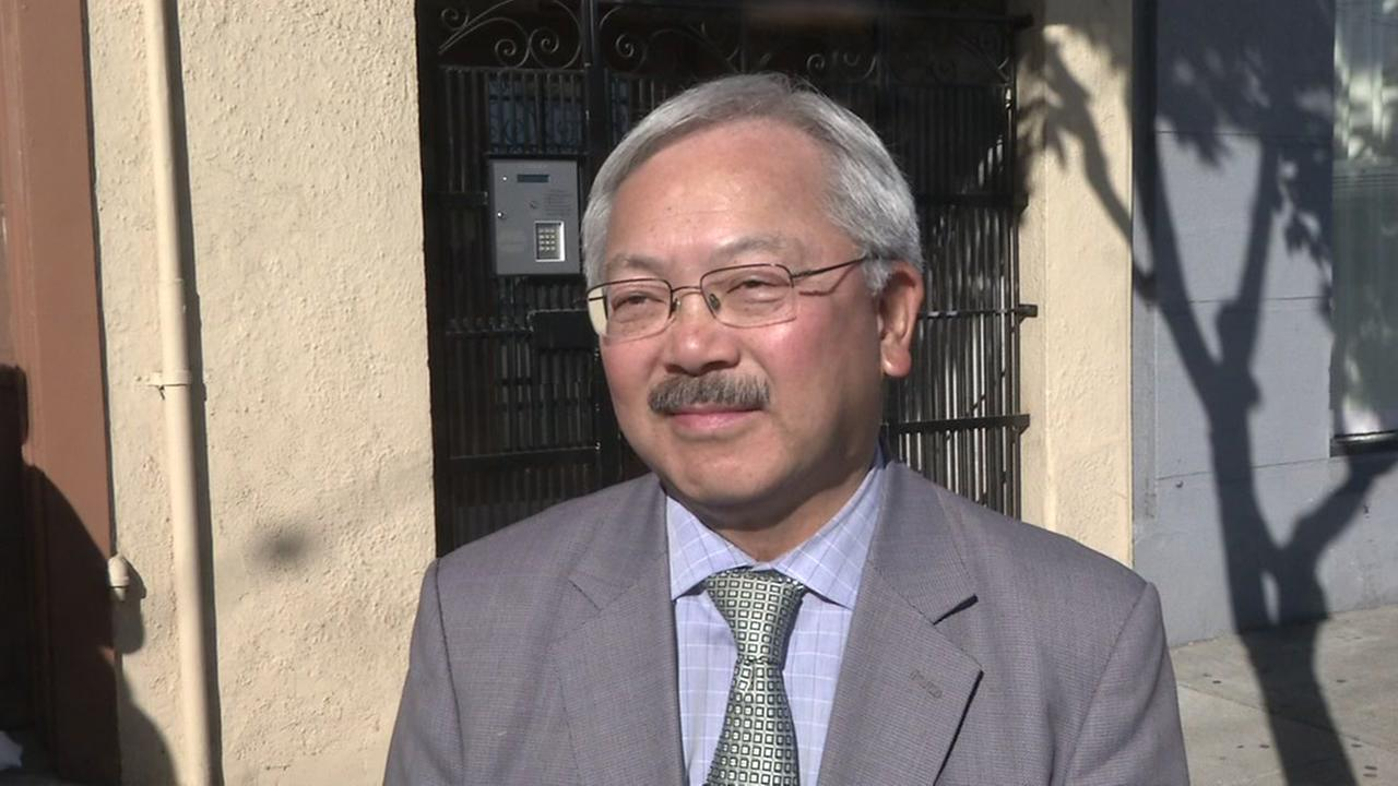 Mayor Ed Lee, in San Francisco, on Monday, December 11, 2017.