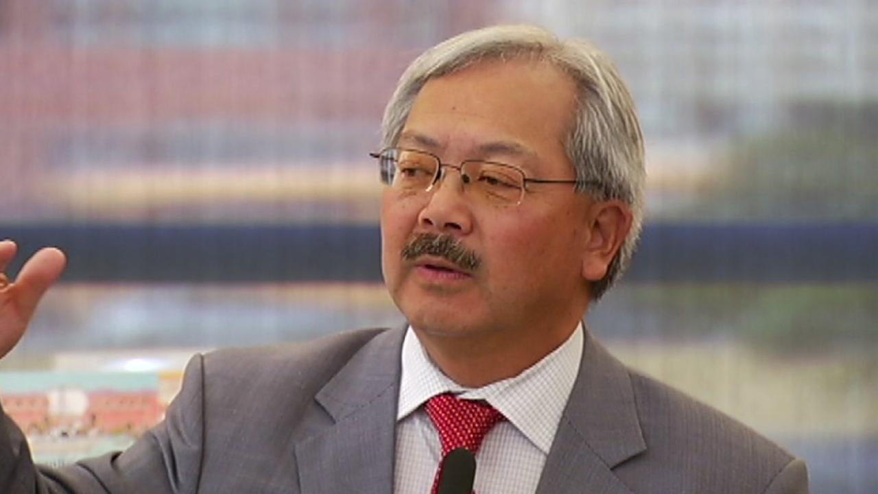San Francisco Mayor Ed Lee speaks at an education event in this undated image.
