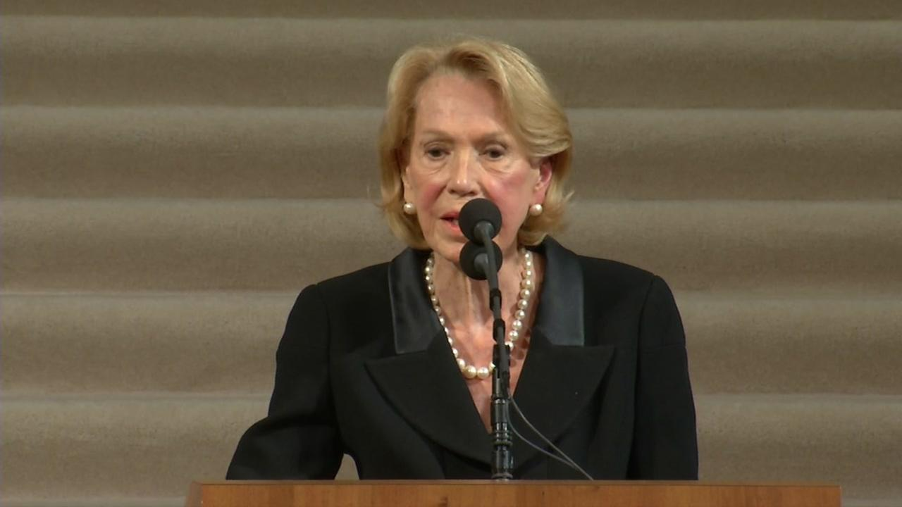 VIDEO: Charlotte and George Shultz speaks at SF Mayor Ed Lee memorial service