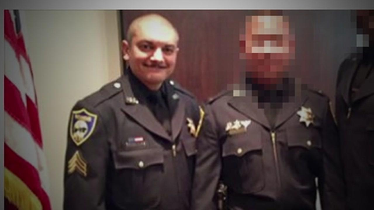 Richmond Police Sergeant Phil Sanchez is seen in this undated image.