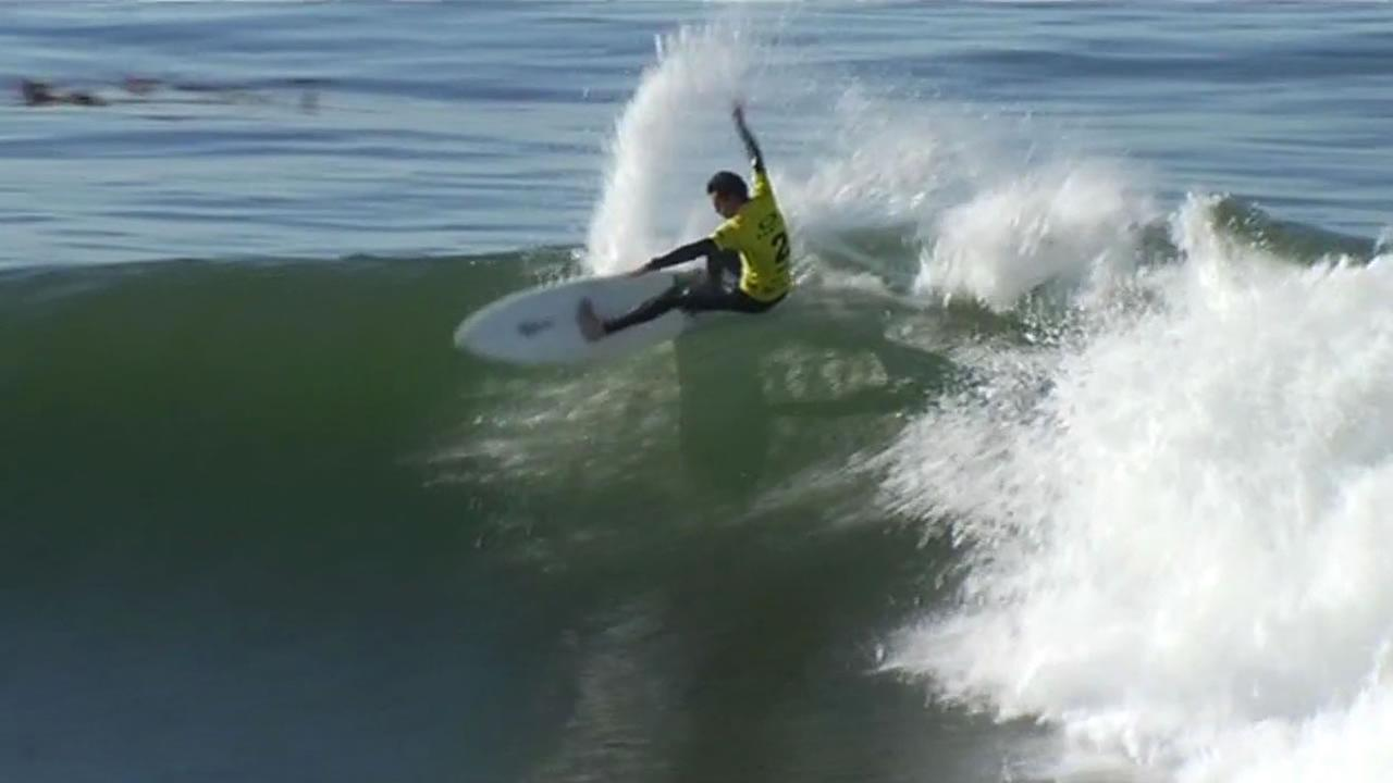 Surfs up for the Surfer Magazines 2014 Oakley Surf Shop Challenge in Santa Cruz.