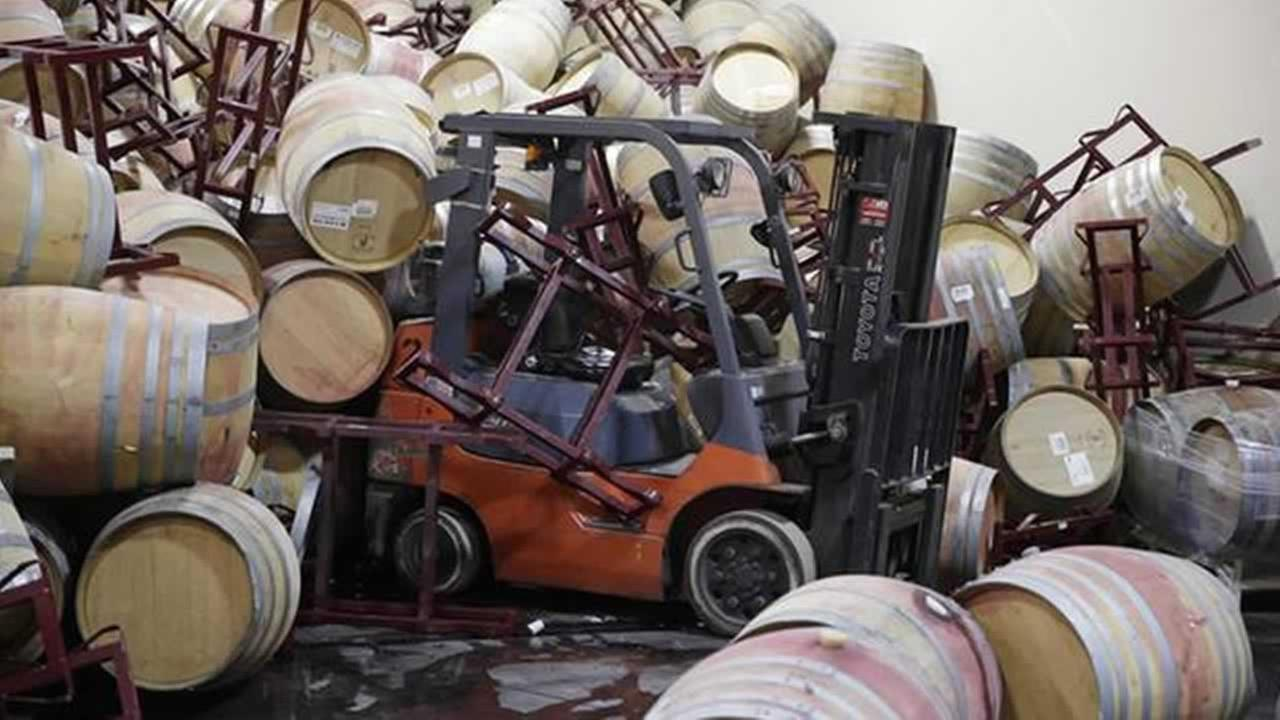 Napa Valley Vintners launch a community fund to rebuild after the 6.0 earthquake that hit Sunday.