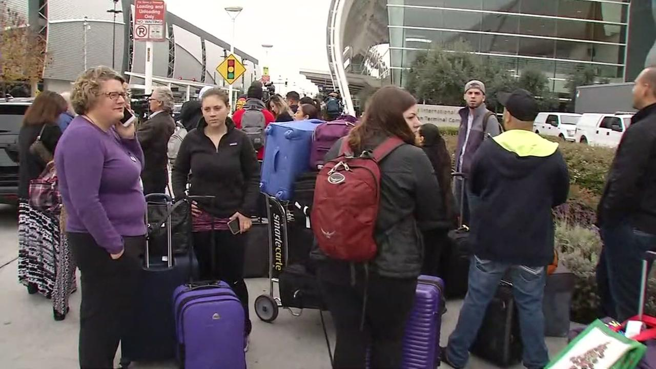 San Jose airport closes terminal due to suspicious backpack