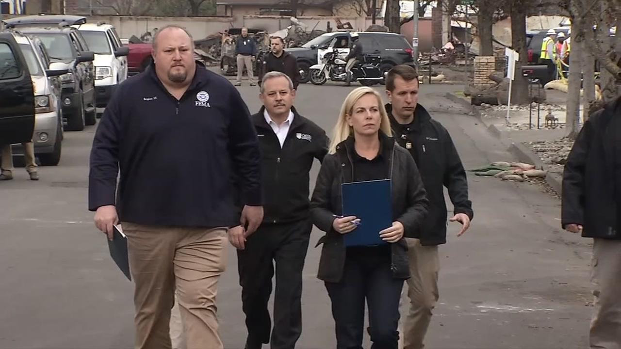 Homeland Security Secretary Kirstjen Nielsen is seen in Santa Rosa, Calif. on Wednesday, Jan. 3, 2017.