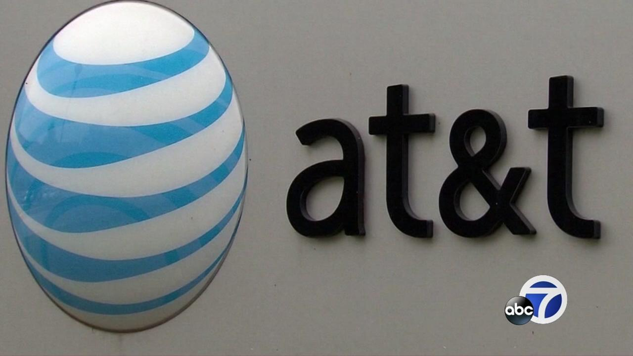This is an undated image of an AT&T sign.