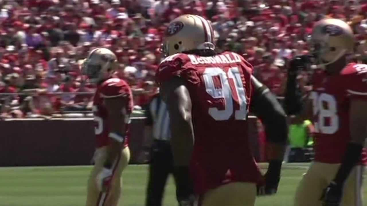 49ers player Ray McDonald