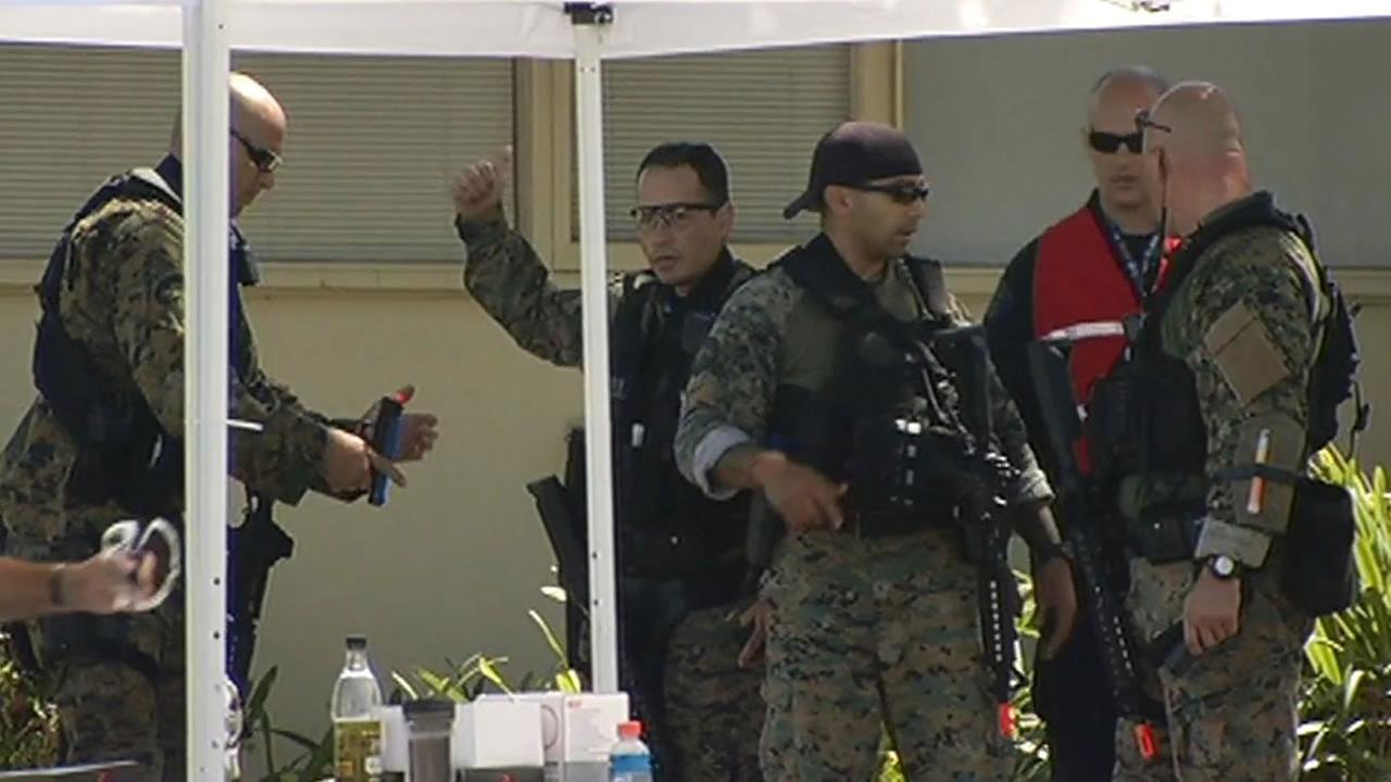 Operation Urban Shield police training exercises are taking place throughout the Bay Area.