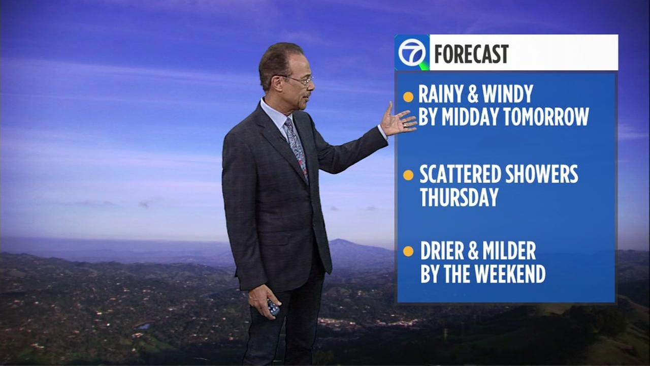 Accuweather forecast for Tuesday evening