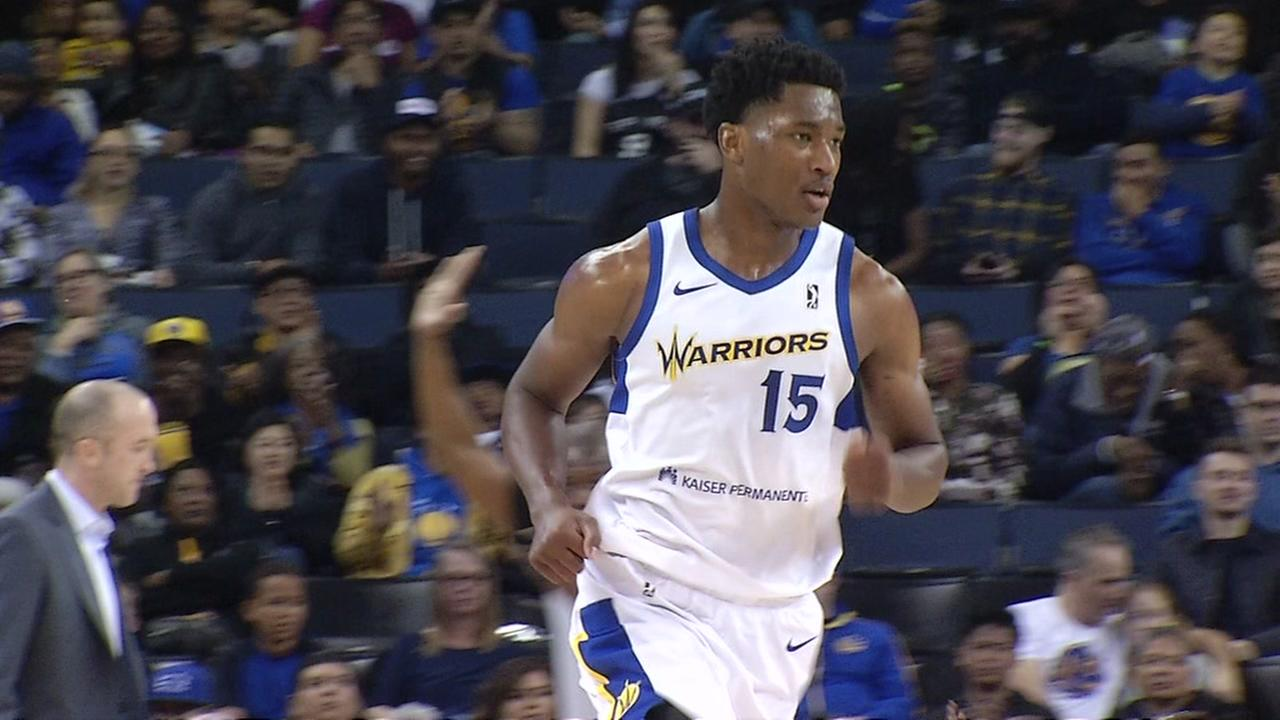The Santa Cruz Warriors play a game in this undated image.