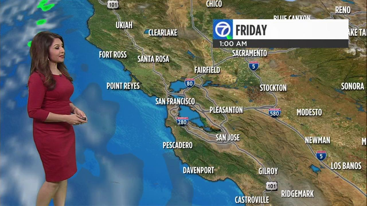 AccuWeather forecast for Friday morning