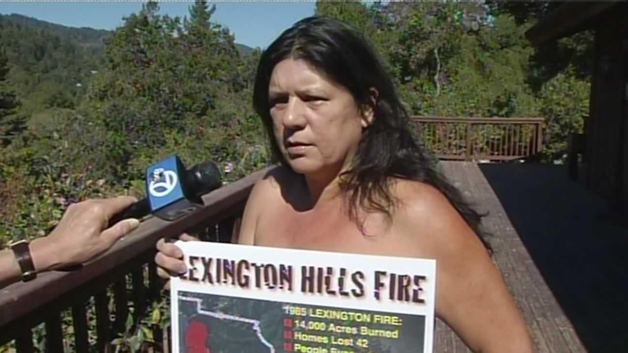 A Los Gatos nudist camp has been accused of pilfering public water.