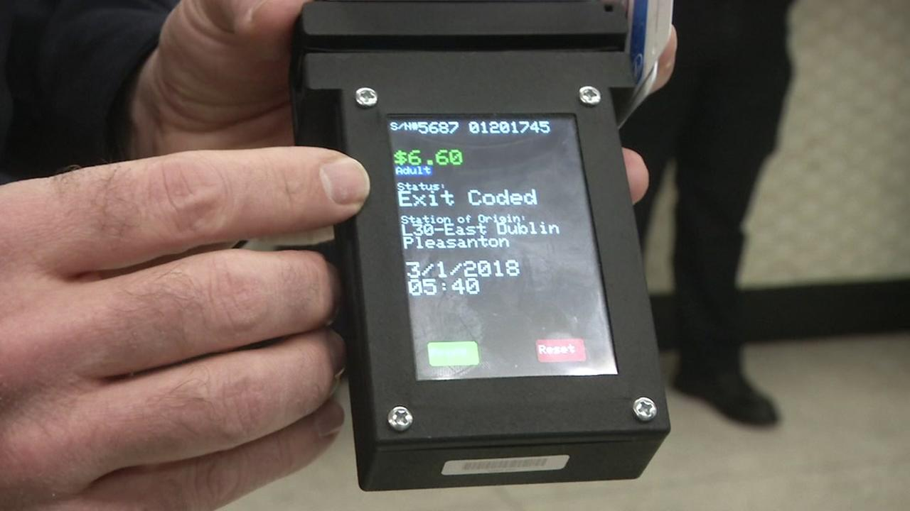Technology to check BART tickets appears in San Francisco on Thursday, March. 1, 2018.