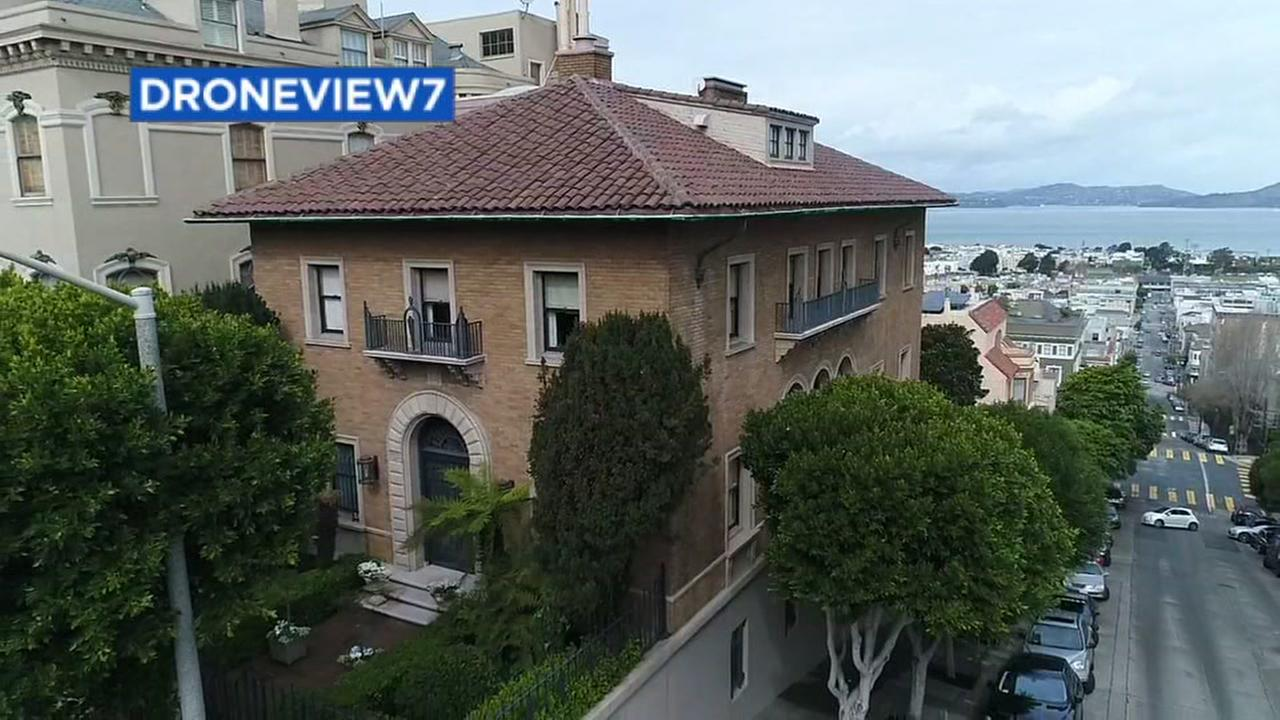 A San Francisco mansion appears on Friday, March. 3, 2018.
