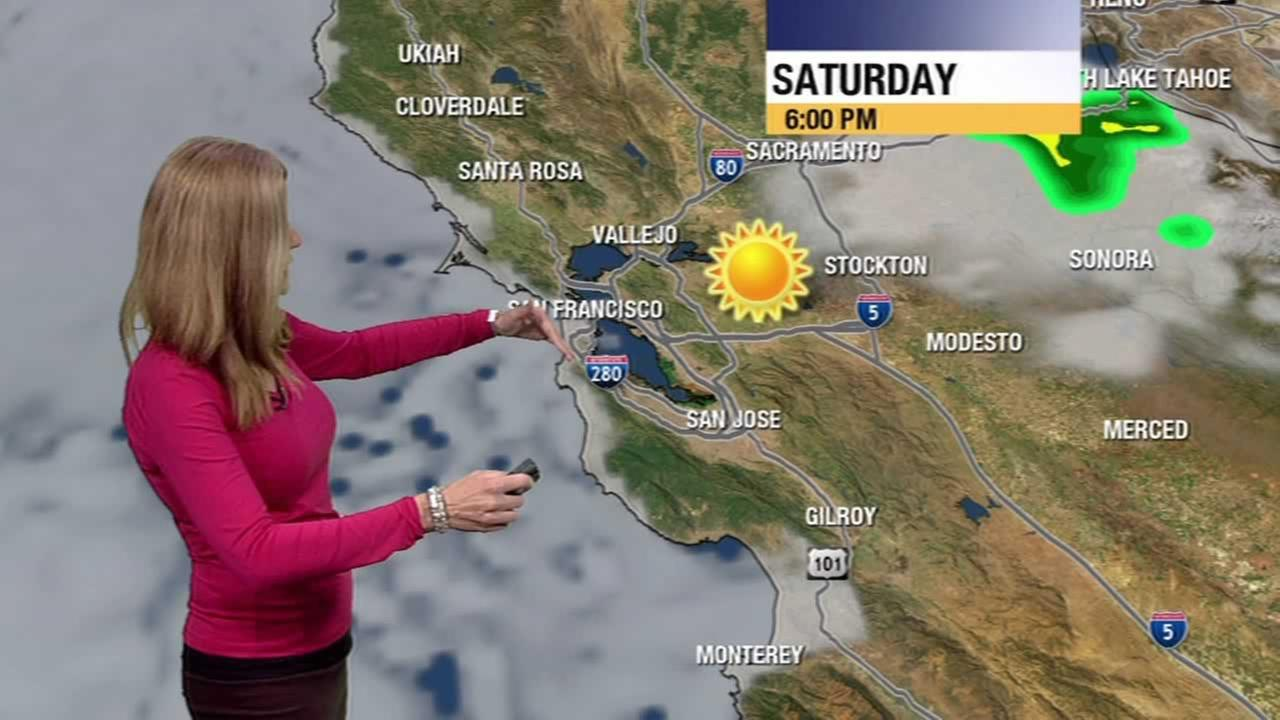 Meteorologist Lisa Argen has your Bay Area AccuWeather forecast.