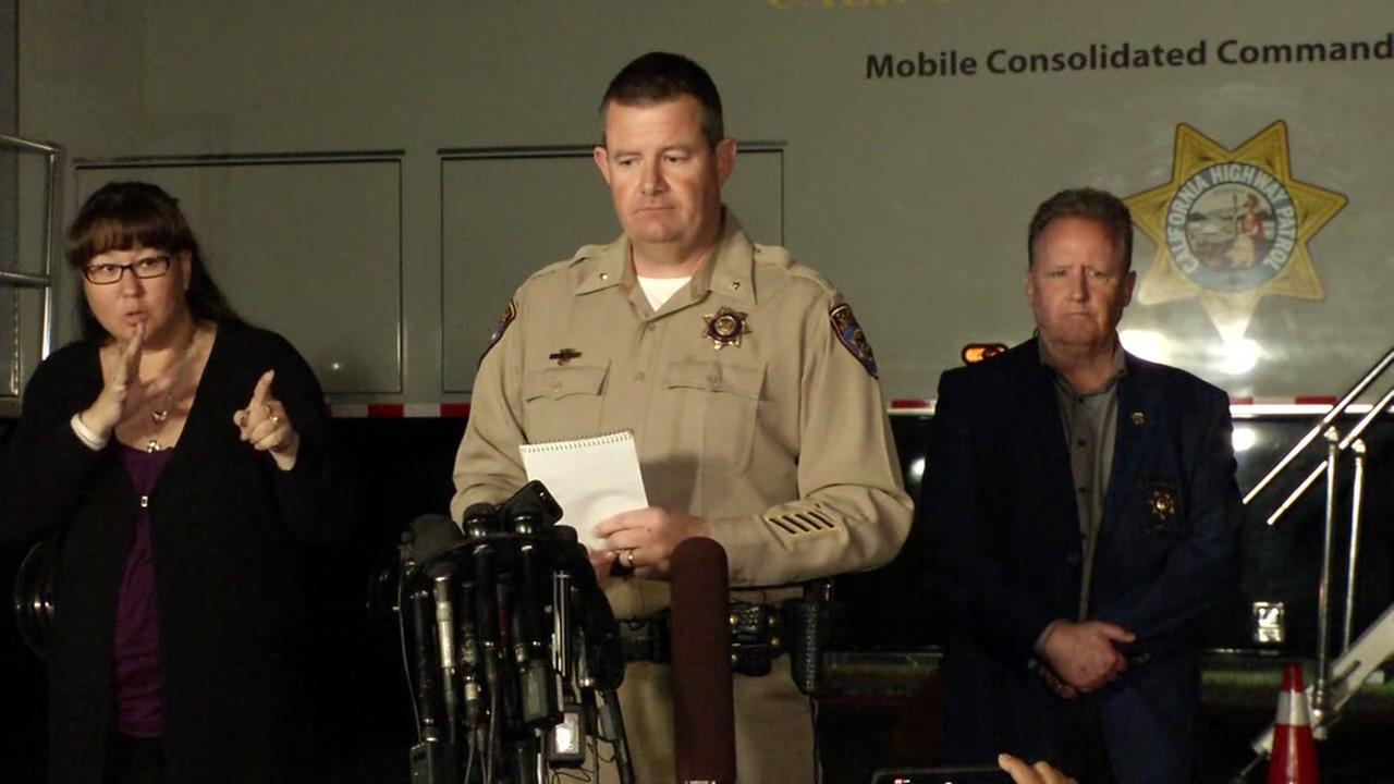 VIDEO: Officials announce tragic conclusion to Yountville standoff