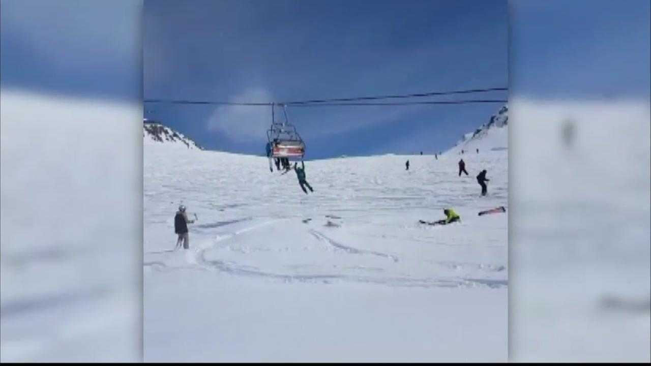 10 injured when ski lift malfunctions in country of Georgia