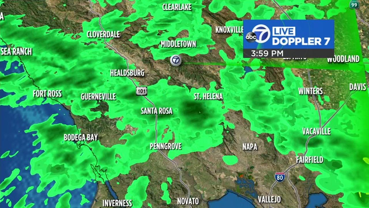 Spring off to wet start as storms move through Bay Area