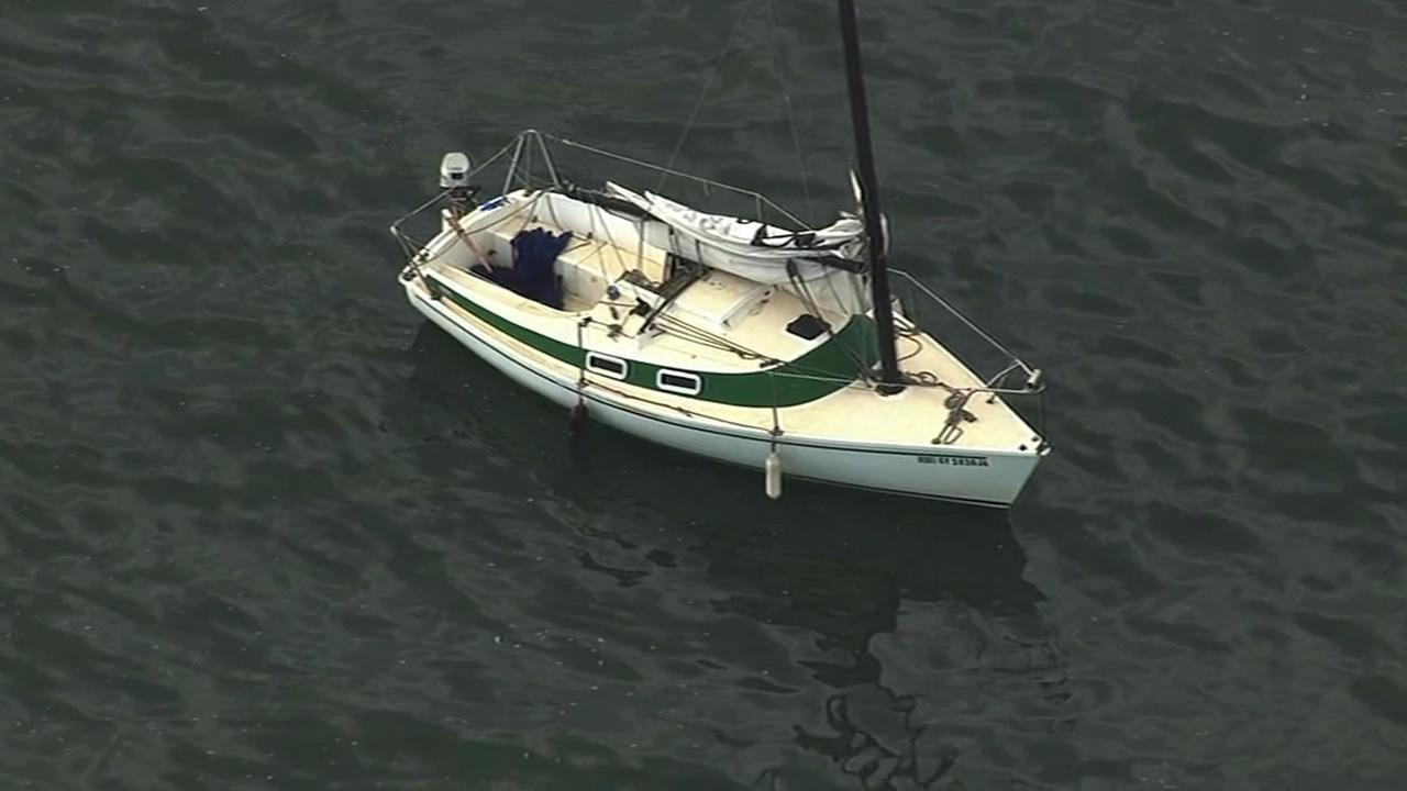 A search is underway in the San Francisco Bay for a missing sailor.