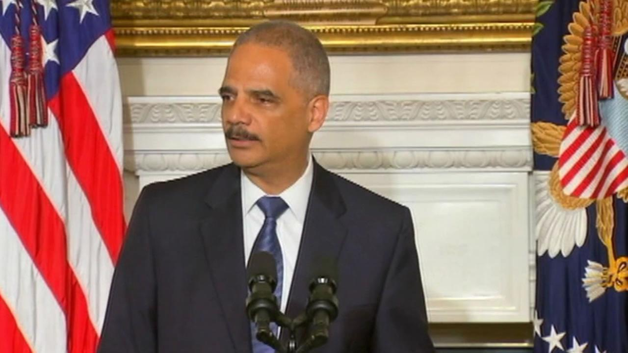 Attorney General Eric Holder announced Thursday that he is stepping down from the position.
