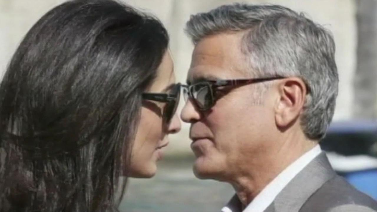George Clooney is expected to marry human rights lawyer Amal Alamuddin this weekend.