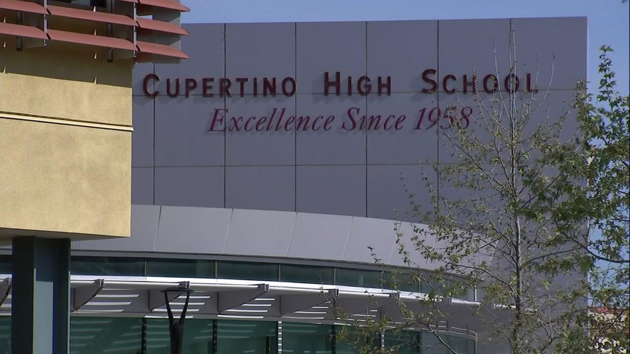 Cupertino High School is seen in this undated image.
