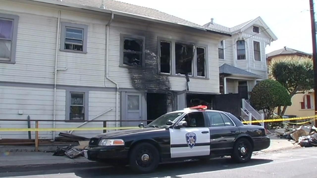 Alameda house fire