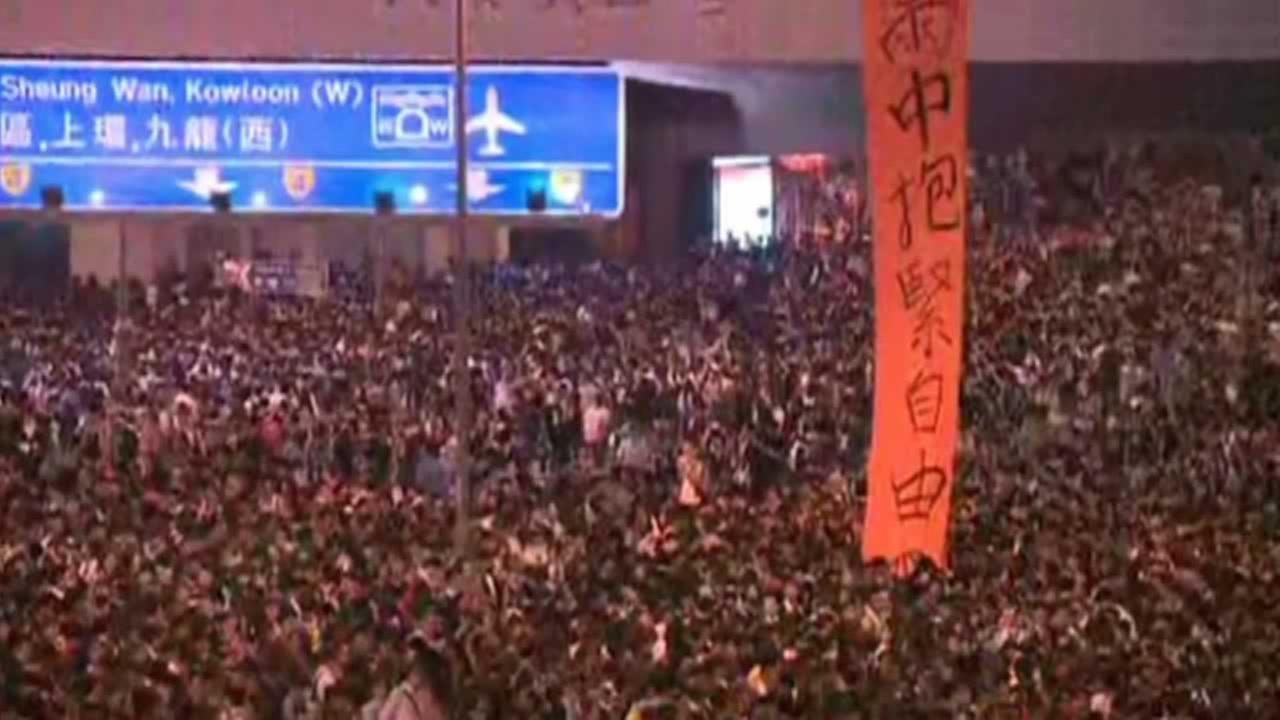 Protesters in Hong Kong are using Bay Area technology to communicate with each other even when Internet service is blocked.