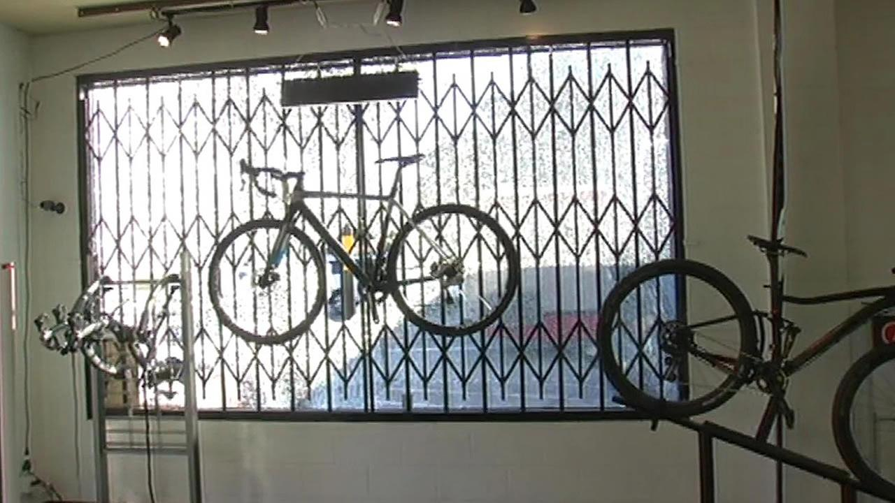 SOMA bike shop