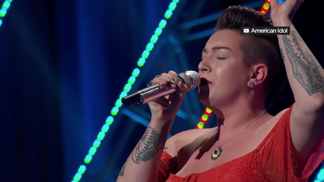 Modesto native Effie Passero appears on American Idol.