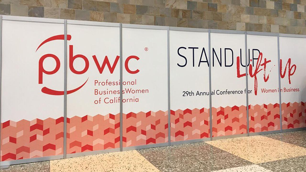 Professional BusinessWomen of California Conference in San Francisco on Tuesday, April 24, 2018.