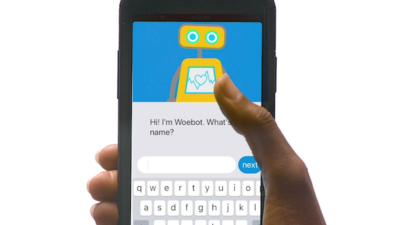 Woebot: the robot therapist, right on your phone
