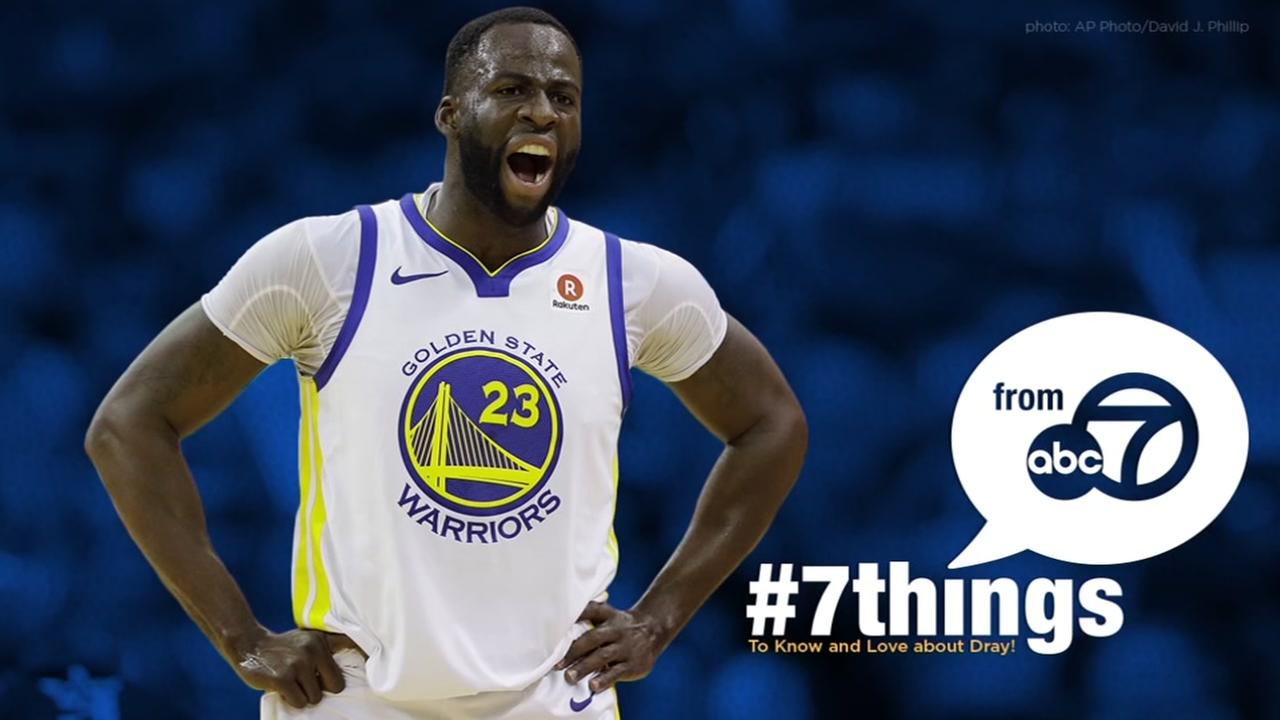 7 THINGS: What we know and love about Warriors' Draymond Green