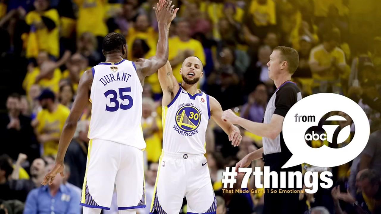 7 THINGS: What made Game 1 so emotional