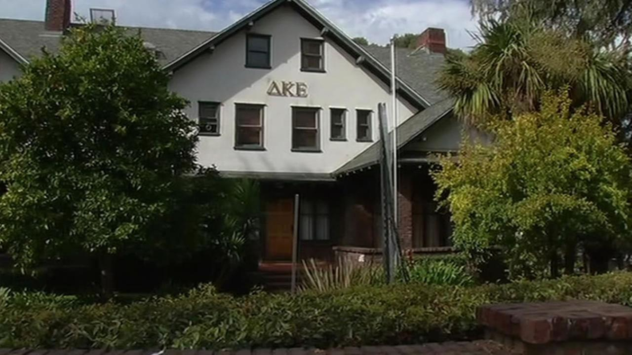 Delta Kappa Epsilon house near UC Berkeley