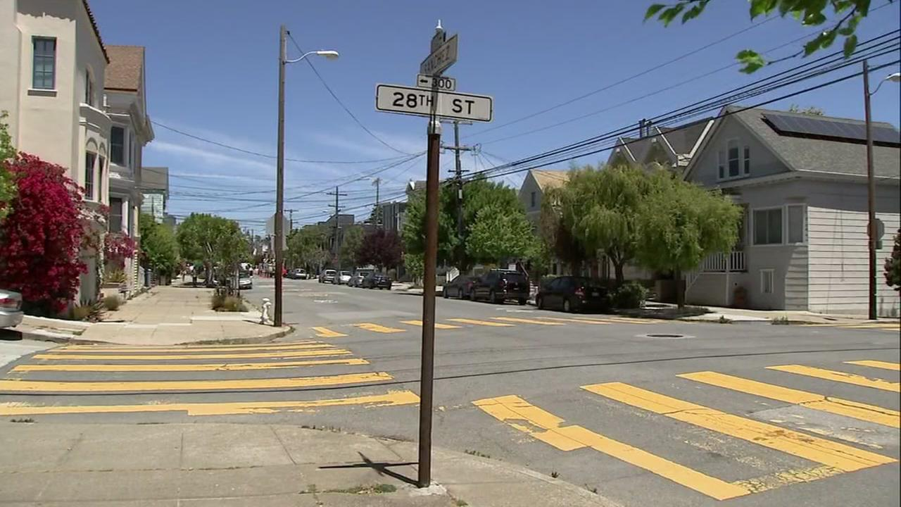 A woman was reportedly violently attacked while walking with her baby in San Franciscos Noe Valley.
