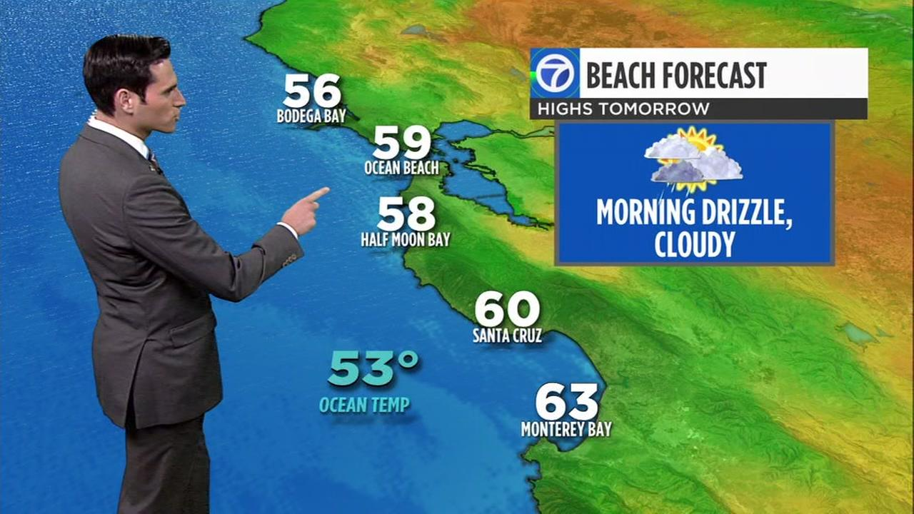 accuweather forecast for san francisco, san jose, oakland and bay