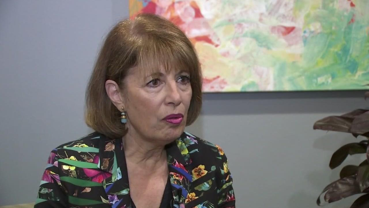 Congresswoman Jackie Speier is interviewed in Texas on Friday, June 22, 2018.