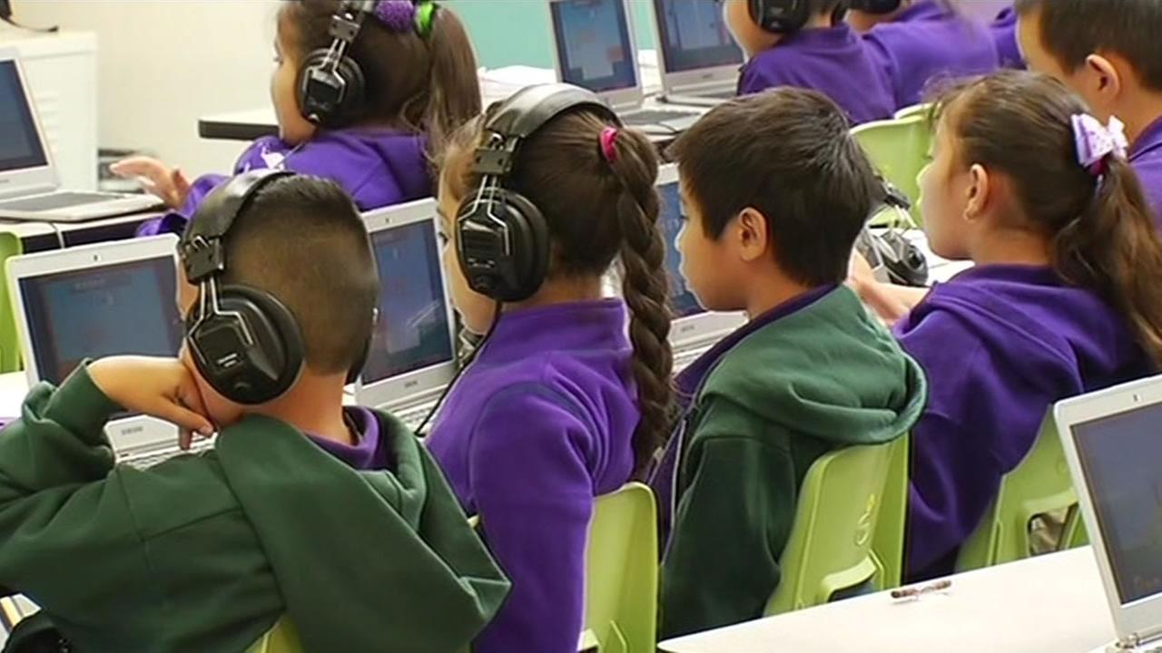 Fuerza Community Prep charter school opened in San Jose Wednesday.