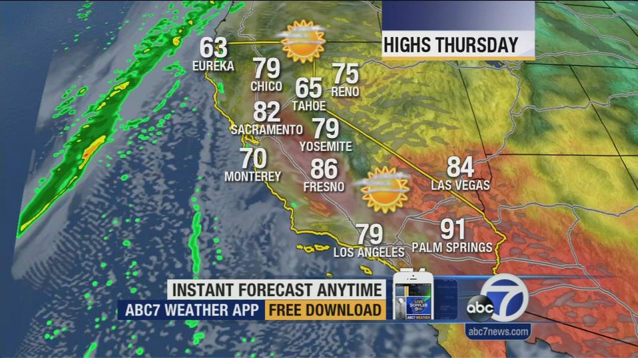 Watch your ABC7 AccuWeather forecast