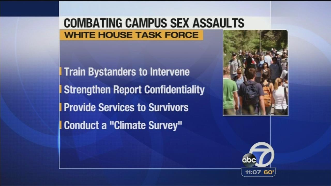 White House to address college sexual assaults