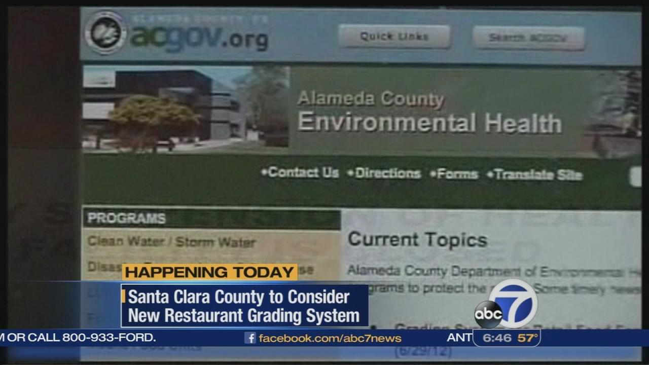 Santa Clara Co. to consider new restaurant rating system