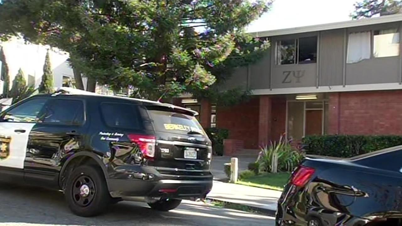 Police investigating after man found dead at UC Berkeley frat house