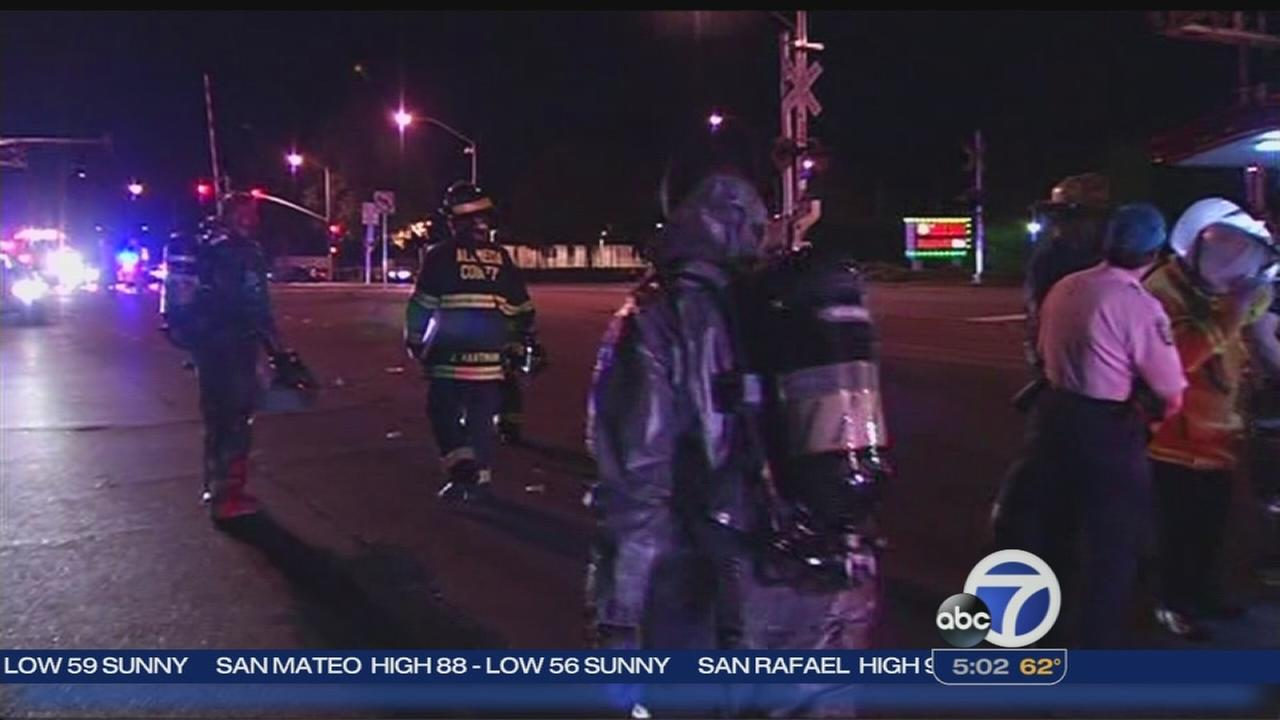 Two critically burned in explosion in San Leandro
